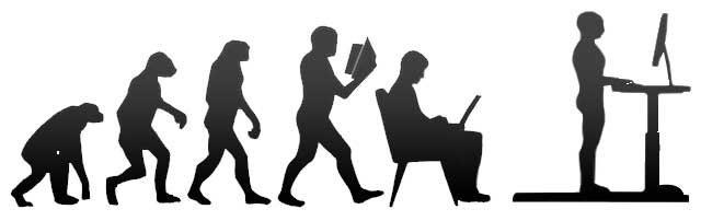 L'évolution du bureau de marche image