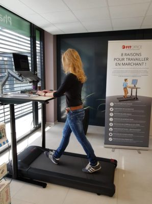 "Bureau de marche ""Walking Desk"" FitOffice"